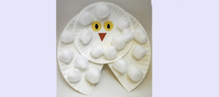 Make a Snowy Owl