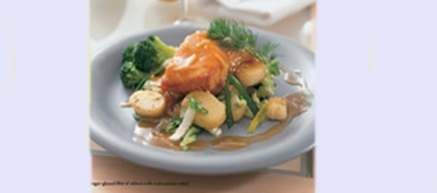 Midsummer Recipe: Ginger-glazed Salmon Over Warm Potato Salad