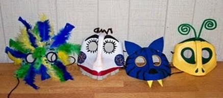 Peruvian craft: Make a Mask