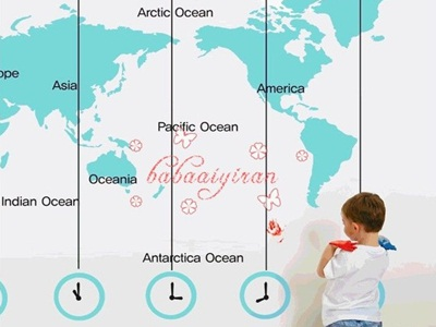 Incultureparent 10 best world maps for your childrens room 2 the time traveler gumiabroncs Image collections