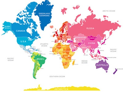 Incultureparent 10 best world maps for your childrens room 3 la moderna gumiabroncs Gallery