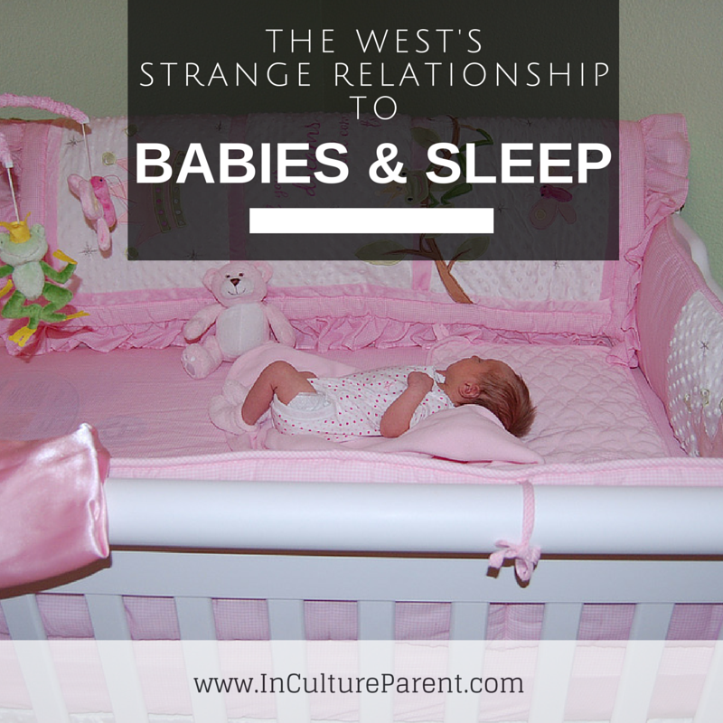 West's Strange relationship to Babies and sleep