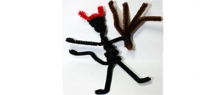 St. Nicholas Craft: Your Own Krampus to Keep Kids in Line
