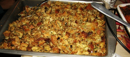 Moroccan Inspired Stuffing Recipe