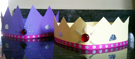 Three Kings Craft: Make a Crown