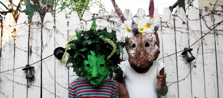 Craft a Kid's Mask For Beltane