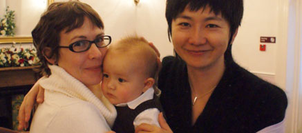 Real Intercultural Family in China: Chinese and English