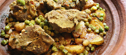 Moroccan Lamb Tajine with Fingerling Potatoes