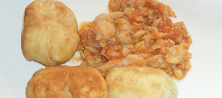 Jamaican Recipe: Saltfish and Dumpling