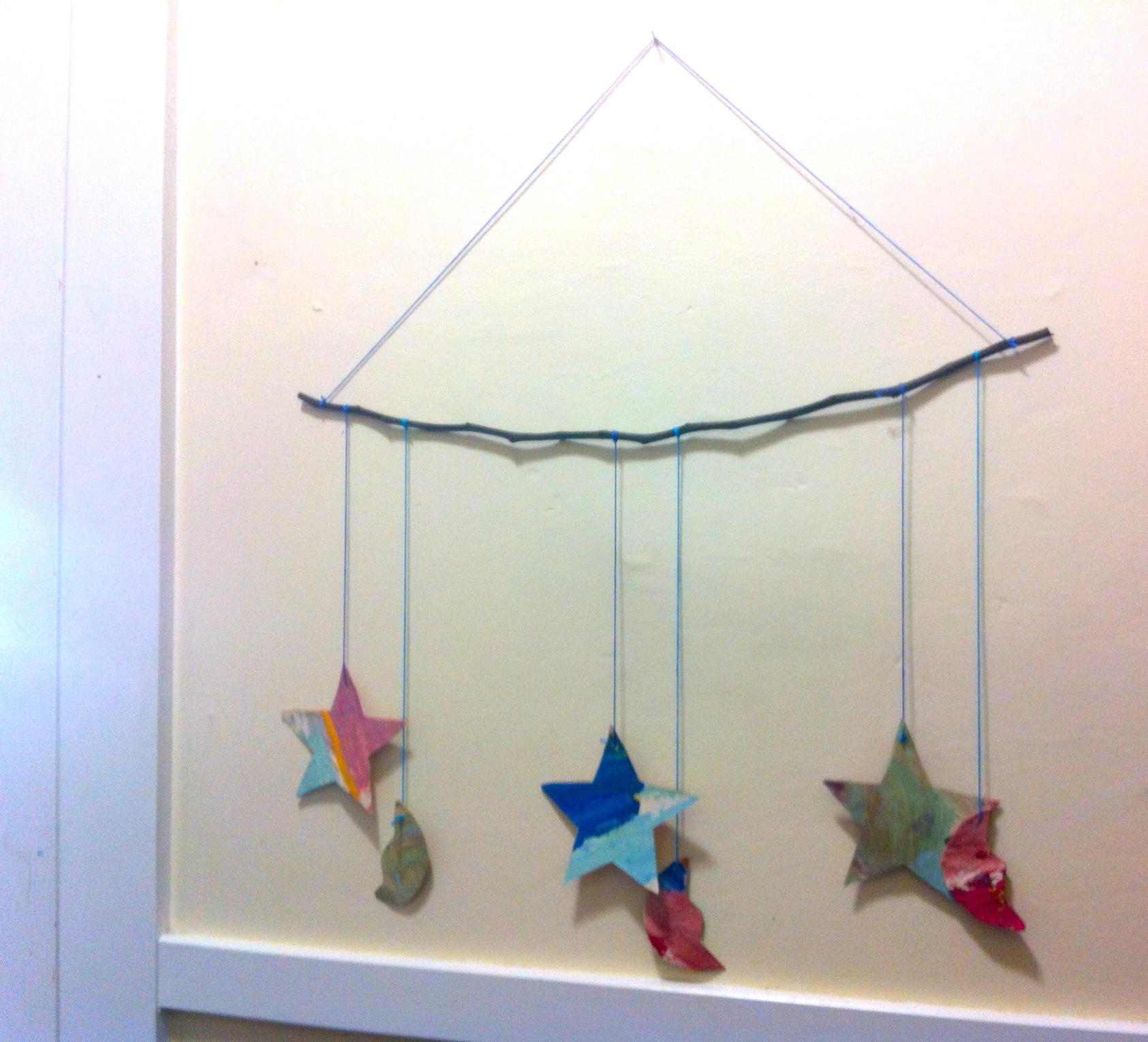 Ramadan Star Moon Craft Door