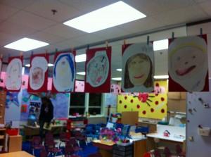 Lila's classroom