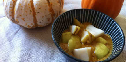 Super Healthy Pumpkin Chia Pudding