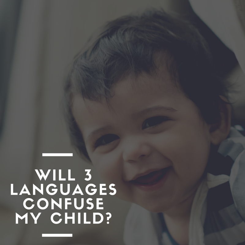 will 3 languages confuse my child-FB