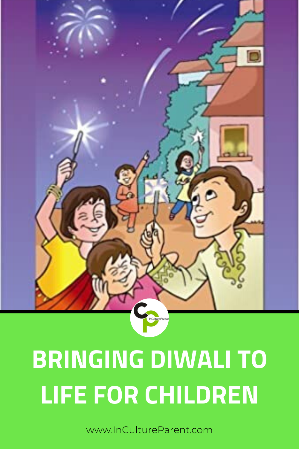 Bringing Diwali to Life for Children Pin