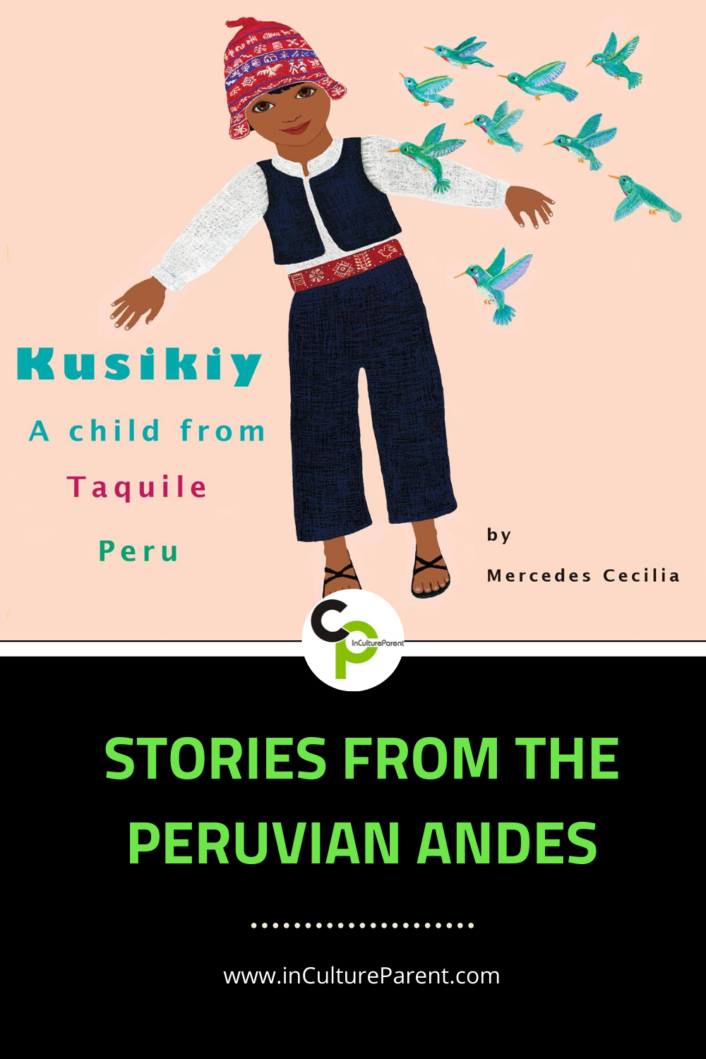 Stories from the Peruvian Andes Pin