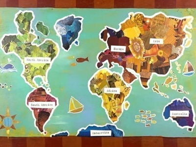 Incultureparent 10 best world maps for your childrens room 7 gumiabroncs Image collections