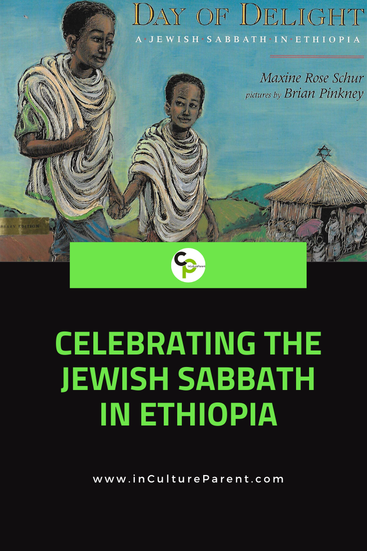 Celebrating the Jewish Sabbath in Ethiopia Pin