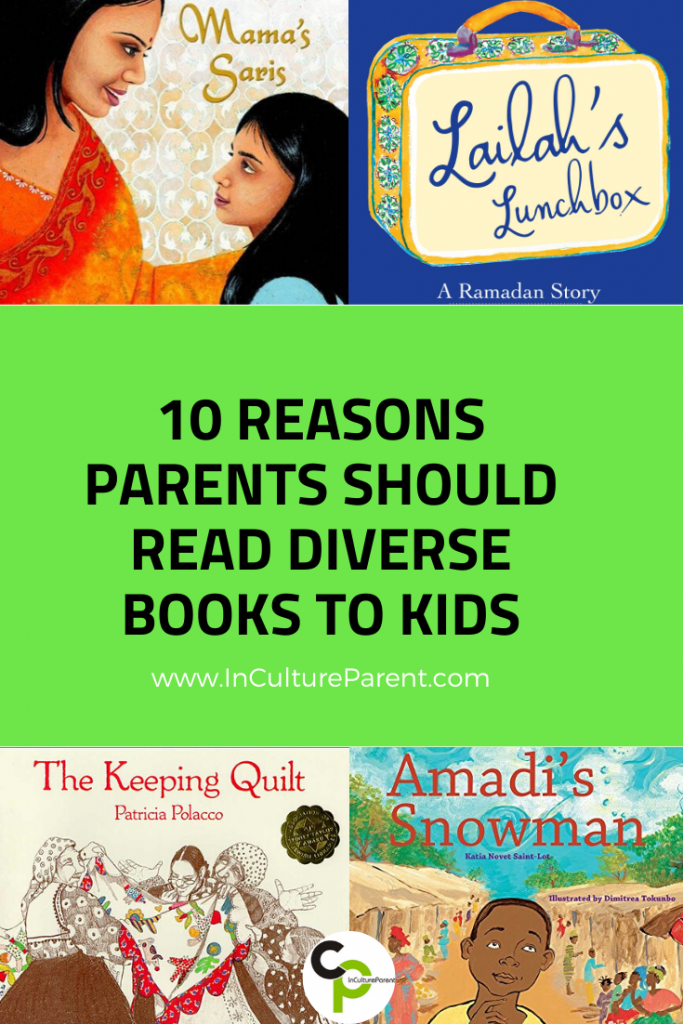 10 Reasons Parents Should Read Diverse Books to Kids Pinterst