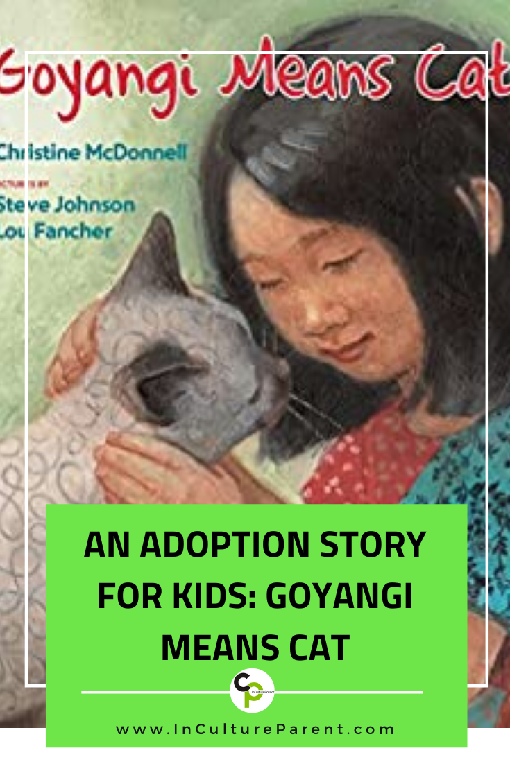An Adoption Story for Kids_ Goyangi Means Cat Pin