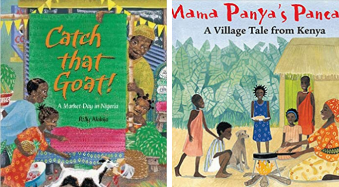 Children's Books that Travel to Africa