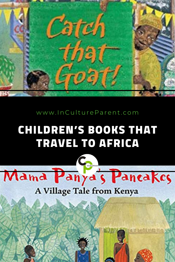 Children's Books that Travel to Africa Pin