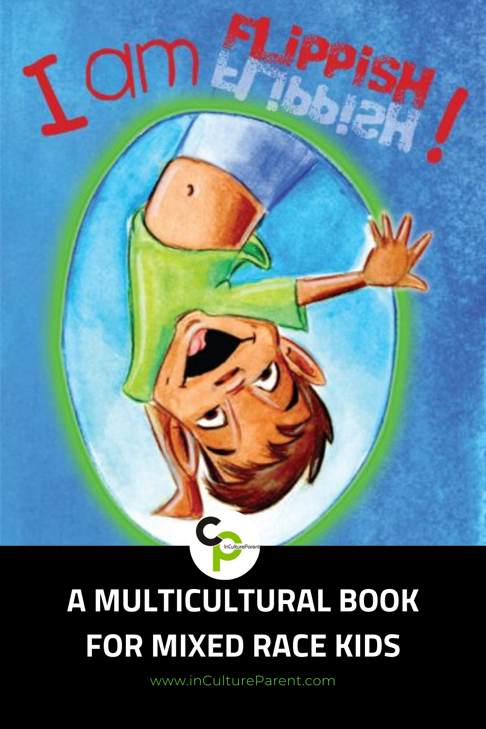 A Multicultural Book for Mixed Race Kids Pin