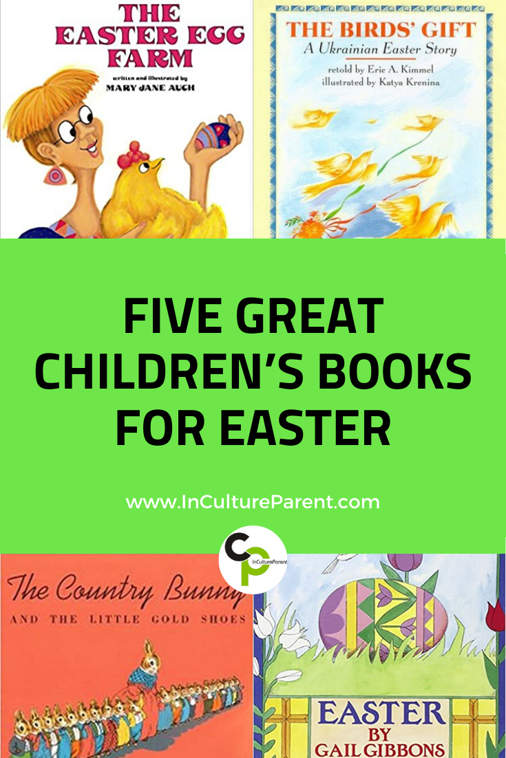 Five Great Children's Books for Easter Pin