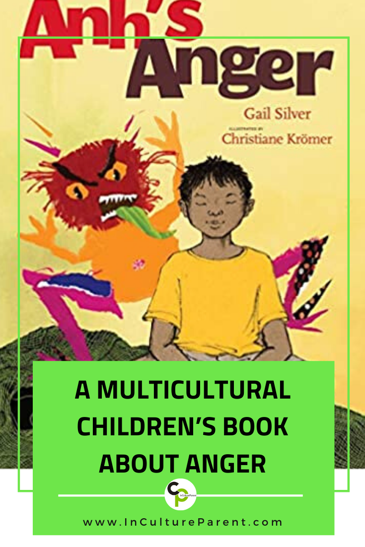 A Multicultural Children's Book about Anger Pin