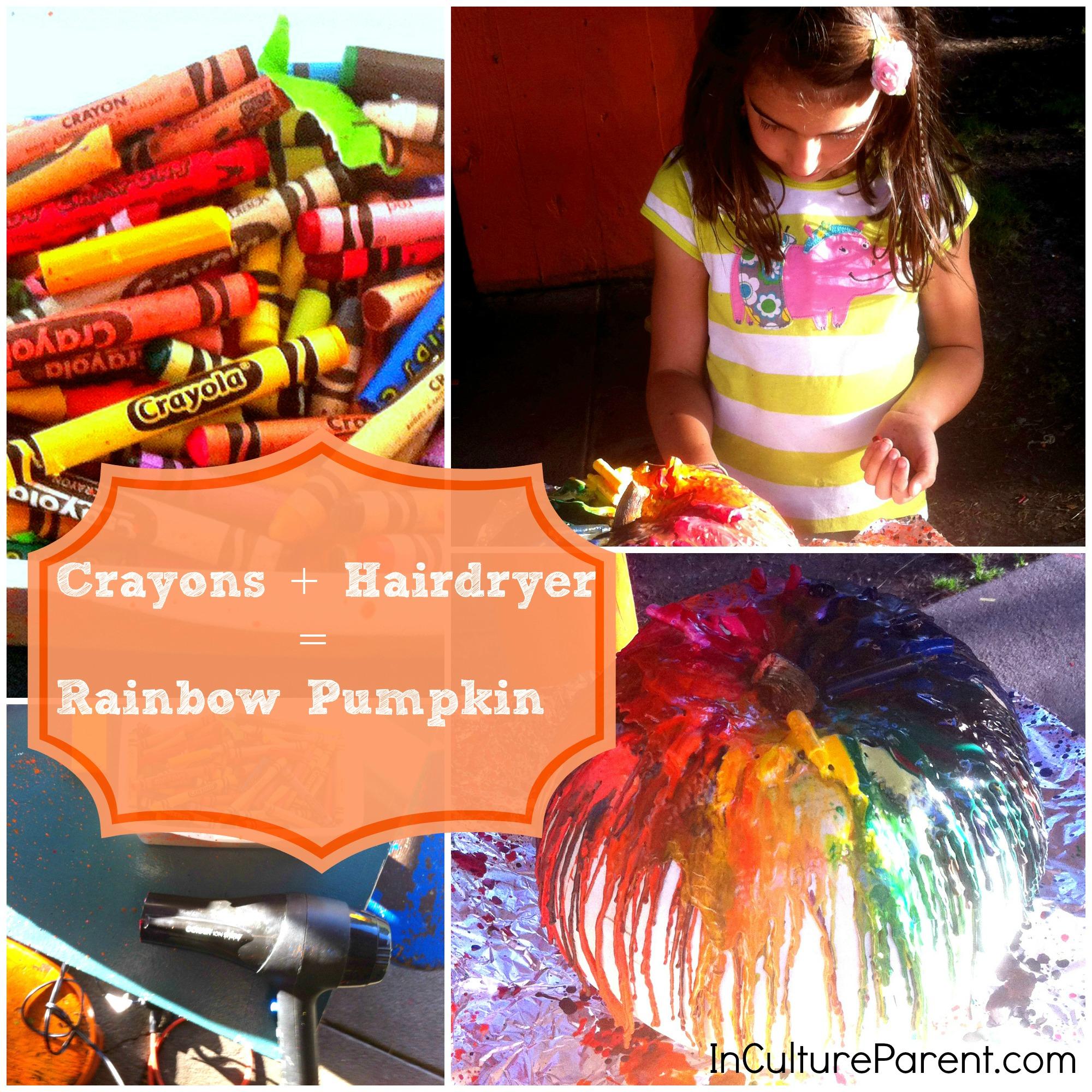 Crayon pumpkin craft-pinterest2