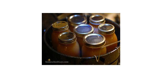 canning apple