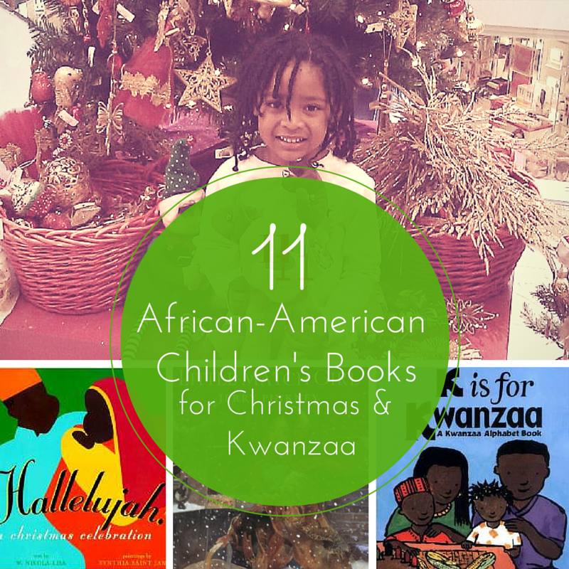 11 african american children's books for kwanzaa and Christmas