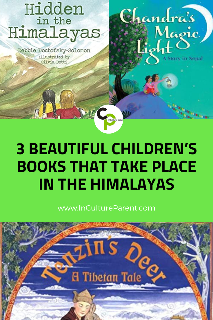 3 Beautiful Children's Books That Take Place in the Himalayas Pin