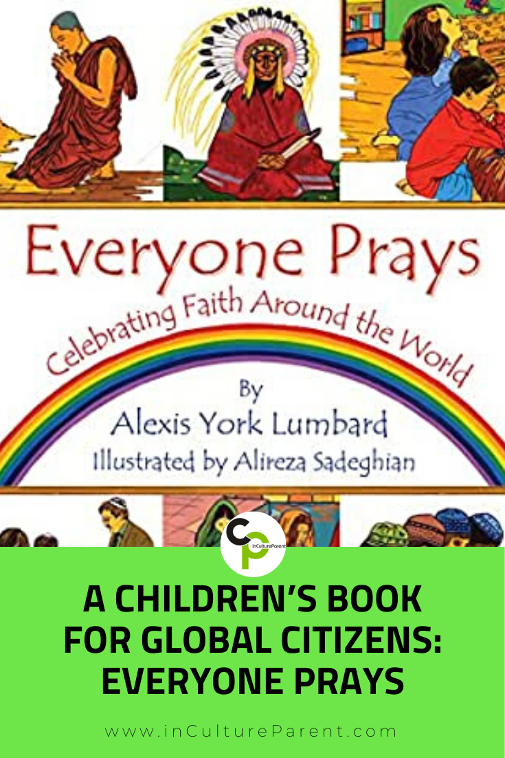 A Children's Book for Global Citizens_ Everyone Prays Pin