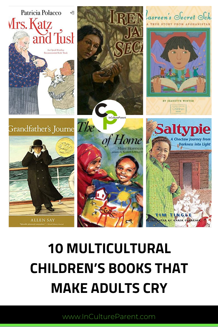 10 Multicultural Children's Books that Make Adults Cry Pin