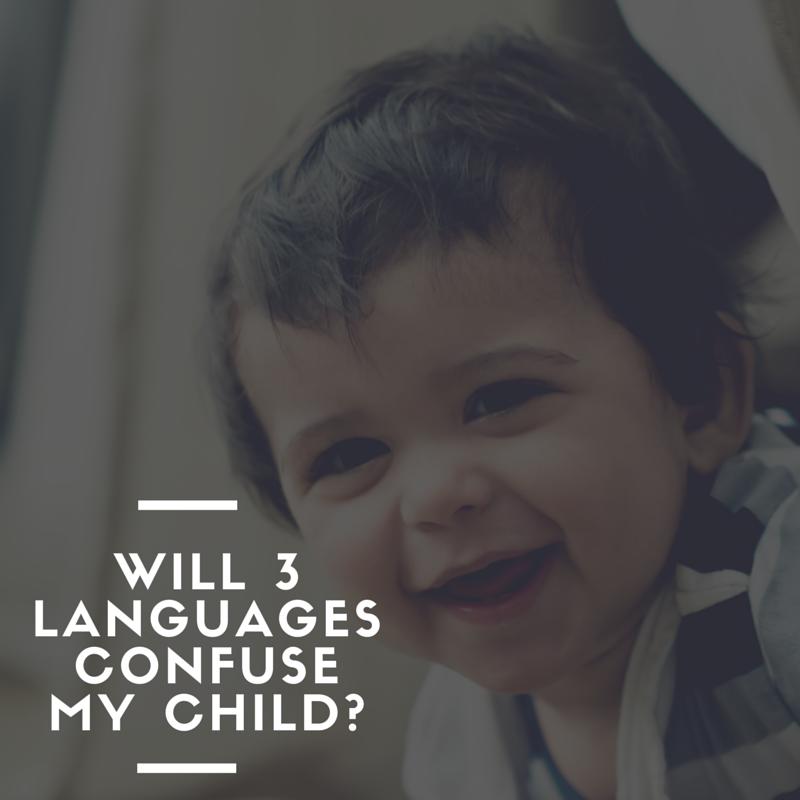 3 languages confuse a child