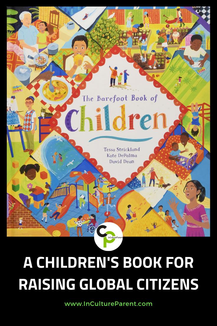 A Children's Book for Raising Global Citizens Pin