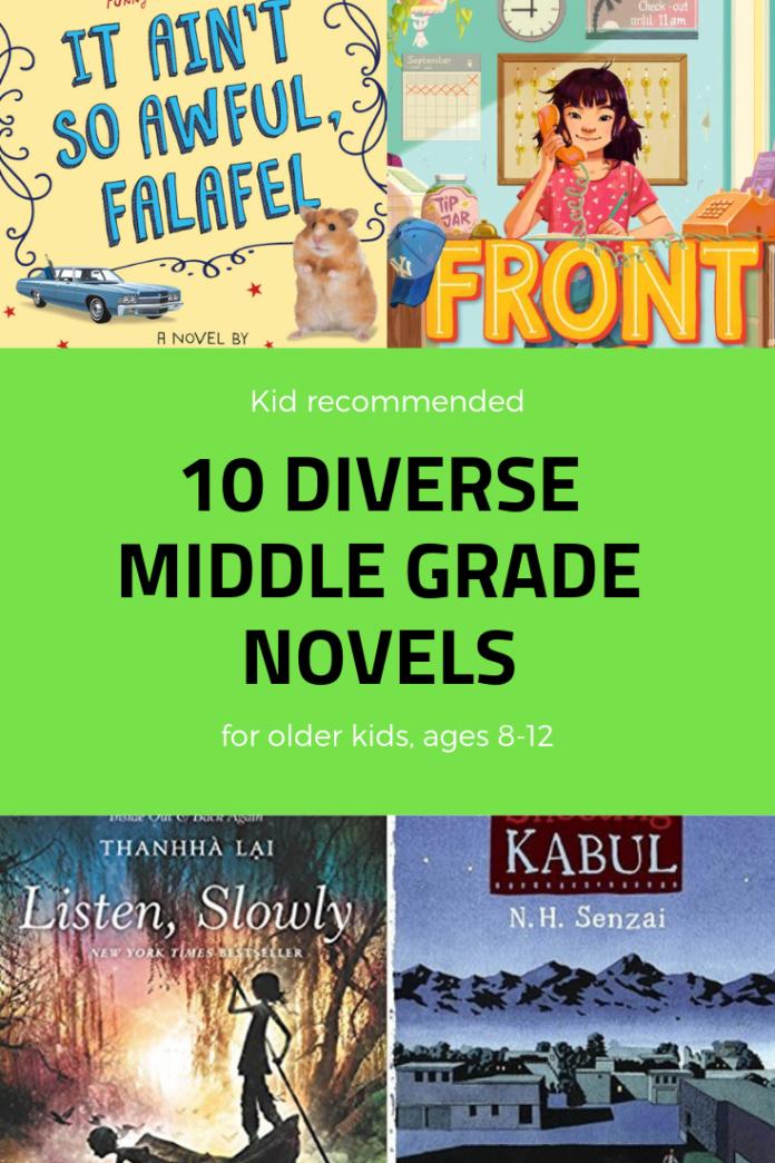 diverse middle grade books