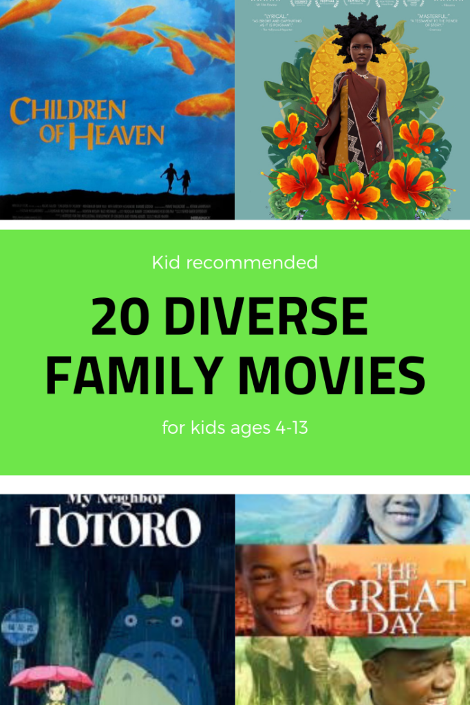 diverse family movies
