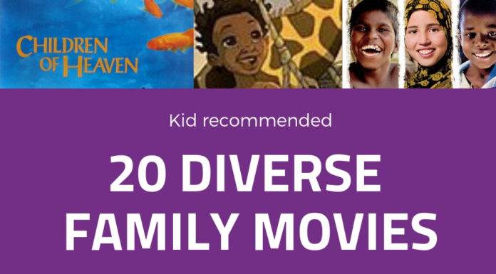 diverse movies for kids