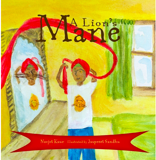 A Lion's Mane-Sikh Children's book