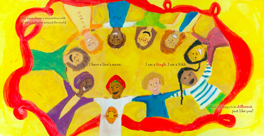 A Lion's Mane-Children's Book about Sikhs