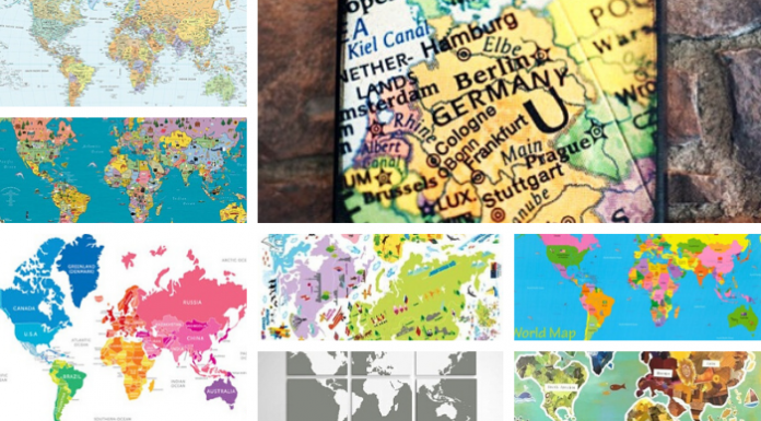 10 Best World Maps for Your Children's Room