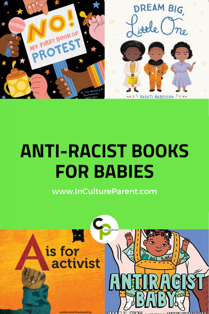 Anti-Racist Books for Babies Pin