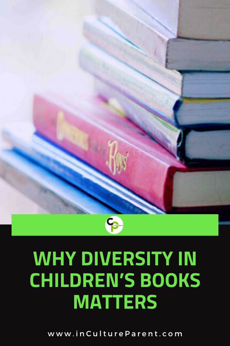 Why Diversity in Children's Books Matters Pin